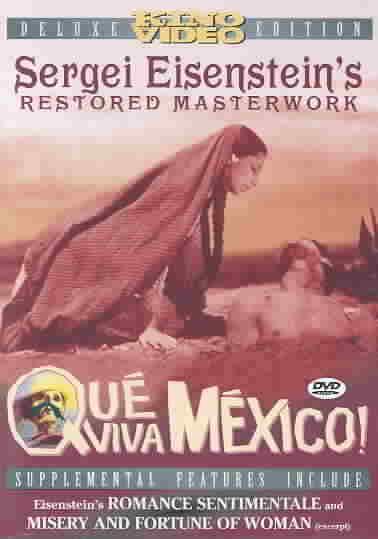 QUE VIVA MEXICO BY EISENSTEIN,SERGEI (DVD)