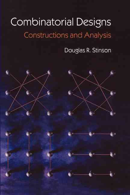 Combinatorial Designs By Stinson, Douglas R.